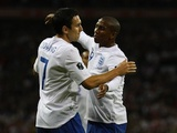 Ashley Young and Stewart Downing