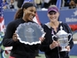 Sam Stosur and Serena Williams