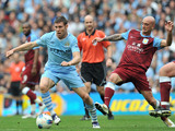 James Milner and Stephen Ireland