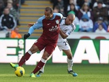 Gabriel Agbonlahor and Ashley Richards
