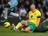Steve Morison and Joe Hart