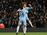 David Silva and Sergio Aguero