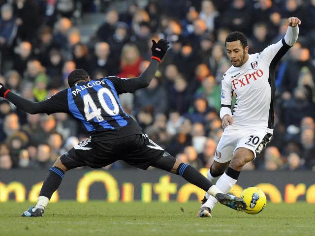 Moussa Dembele and Wilson Palacios