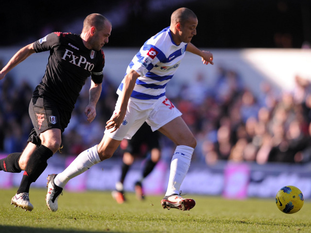 Bobby Zamora and Danny Murphy
