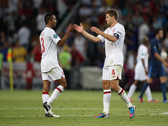 Steven Gerrard, Ashley Cole