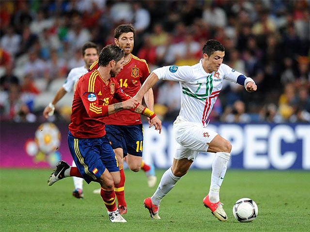 Garcia Sergio Ramos, Cristiano Ronaldo