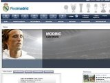 Luka Modric website page