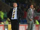 An angry Craig Levein
