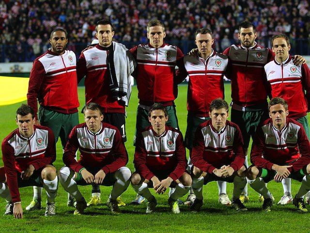 Wales team to face Croatia