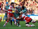 Manu Tuilagi is tackled