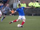Lee McCulloch scores for Rangers on November 17, 2012