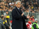 Lazio manager Vladimir Petkovic on November 17, 2012