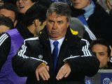 Guus Hiddink as Chelsea manager