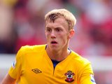 James Ward-Prowse in action for Southampton
