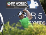 Luke Donald takes a one-shot lead on the opening day of the DP World Championship on November 22, 2012