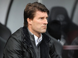 Swansea City manager Michael Laudrup during the match against Liverpool on November 25, 2012