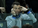 Inter forward Antonio Cassano watches his team against Parma on November 26, 2012