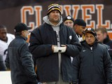 Pittsburgh Steelers' Ben Roethlisberger on the sidelines on November 25, 2012