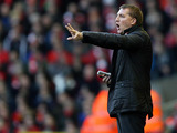 Liverpool manager Brendan Rodgers on the touchline on December 1, 2012