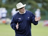 Tennessee Titans offensive coordinator Chris Palmer on June 6, 2012