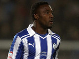 Sheffield Wednesday's Jermaine Johnson on January 24, 2012