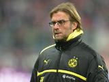 Borussia Dortmund's head coach Juergen Klopp during the match against Bayern Munich on December 1, 2012