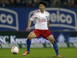 Hamburg's Son Heung-Min on November 3, 2012