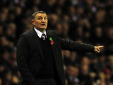Tony Mowbray on the touchline on October 30, 2012