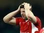 Wales's Alex Cuthbert on November 16, 2012