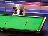 Mark Selby at the table during the 2012 UK Snooker Championship