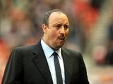 Chelsea manager Rafa Benitez at the Stadium of Light on December 8, 2012