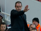 West Brom manager Steve Clarke at Emirates Stadium on December 4, 2012