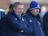 Rangers manager Ally McCoist on the touchline on December 15, 2012