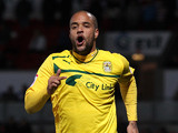 Coventry City's David McGoldrick celebrates scoring his team's third goal on December 15, 2012
