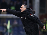 Udinese coach Francesco Guidolin on the touchline on December 10, 2012