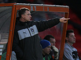 Coventry City manager Mark Robins instructs his players on the touchline on December 15, 2012