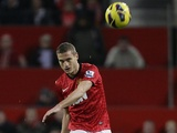 United captain Nemanja Vidic returns to action versus Sunderland on December 15, 2012
