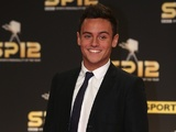 Team GB diver Tom Daley arrives for Sports Personality of the Year on December 16, 2012