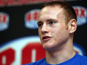 George Groves during an interview on January 23, 2012