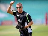 Former England skipper Alec Stewart, coaching Surrey at The Oval on August 3, 2011