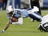 Titans' Nate Washington in action against the Jets on December 17, 2012
