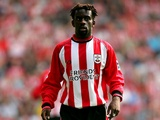Olivier Bernard in action for Southampton on April 30, 2005