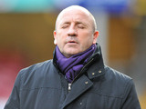 Rochdale manager John Coleman during the match against Bradford on December 29, 2012