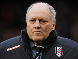 Fulham manager Martin Jol during the match against Swansea on December 29, 2012