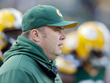 Green Bay Packers head coach Mike McCarthy on December 23, 2012