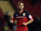 Bristol City's Sam Baldock on October 2, 2012