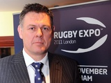 Tony Copsey arrives at London Rugby Expo 2011 on April 7, 2011