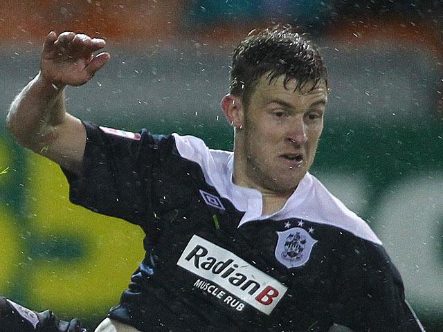 Huddersfield Town's Anthony Gerrard on September 24, 2012