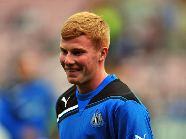 Newcastle United's Conor Newton on July 15, 2011