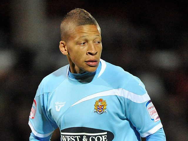 Dagenham & Redbridge's Dwight Gayle on October 2, 2012